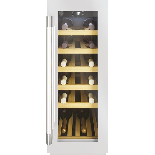 Hoover HWCB30UKSSM/1 Built In Wine Cooler - Stainless Steel - A Rated