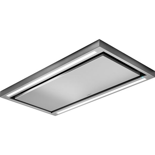 Elica CLOUD-SEVEN-DO 90 cm Ceiling Cooker Hood - Stainless Steel - A++ Rated