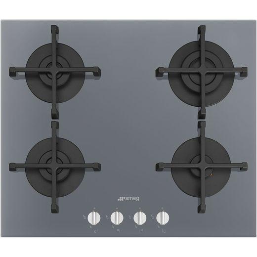 Smeg Piano Design PV264S 60cm Gas Hob - Silver