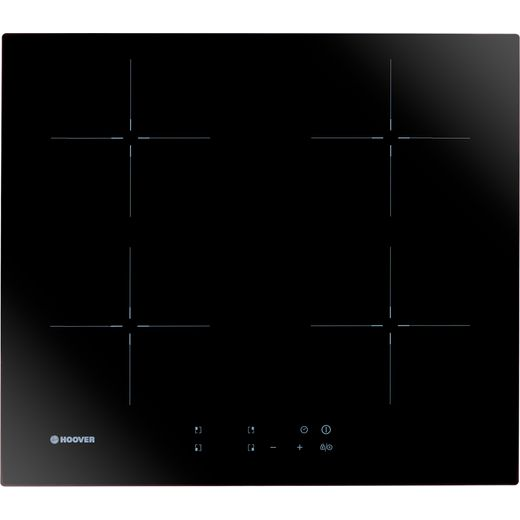 Hoover H-HOB 300 INDUCTION HIC642 59cm Induction Hob - Black Glass