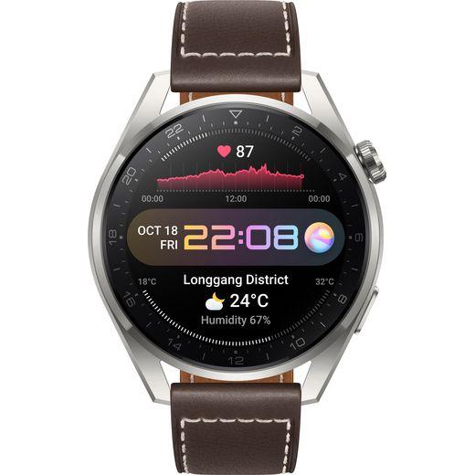 HUAWEI Watch 3 Pro Classic Smart Watch - Brown