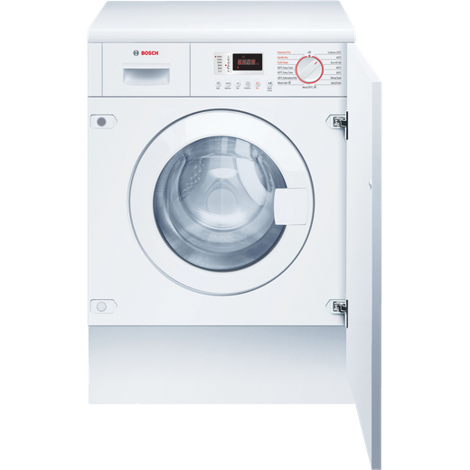 Bosch Serie 4 WKD28352GB Integrated 7Kg / 4Kg Washer Dryer with 1355 rpm - White - E Rated