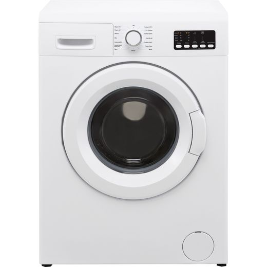 Electra W1244CF2WE 6Kg Washing Machine with 1200 rpm - White - D Rated