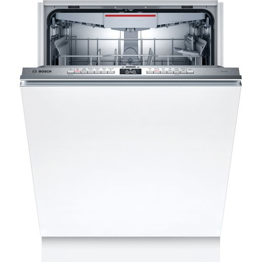Bosch Serie 4 Extra Height SBH4HVX31G Wifi Connected Fully Integrated Standard Dishwasher - Stainless Steel Control Panel - A++ Rated