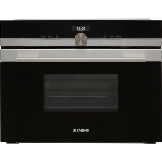 Siemens IQ-700 CD634GAS0B Built In Compact Steam Oven - Stainless Steel