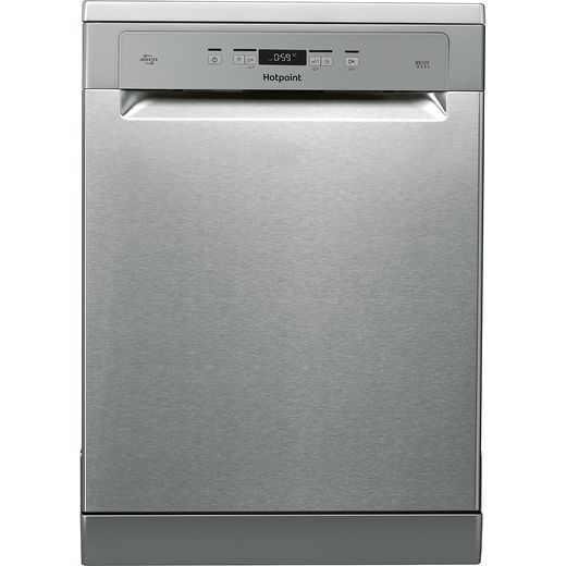 Hotpoint HFC3T232WFGXUK Standard Dishwasher - Stainless Steel - D Rated