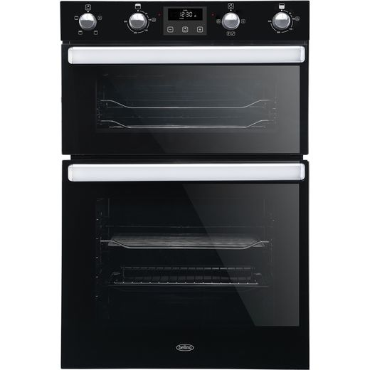 Belling BI902FP Built In Electric Double Oven - Black - A/A Rated