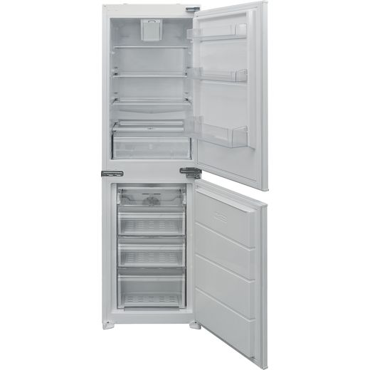 Electra ECFF5050IE Integrated 50/50 Frost Free Fridge Freezer with Fixed Door Fixing Kit - White - F Rated