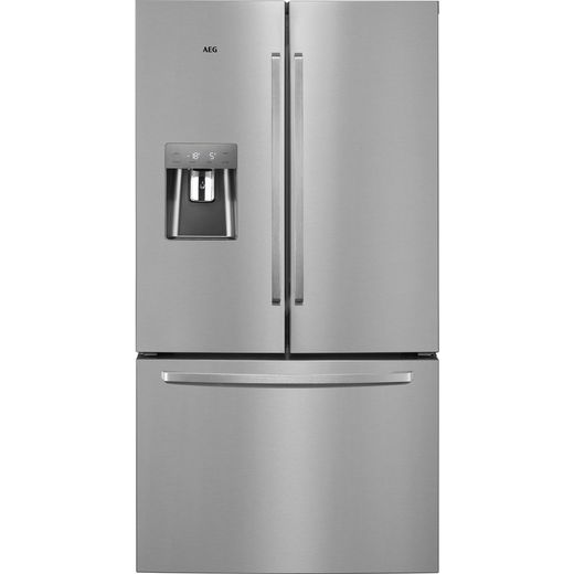 AEG RMB76311NX American Fridge Freezer - Stainless Steel - G Rated