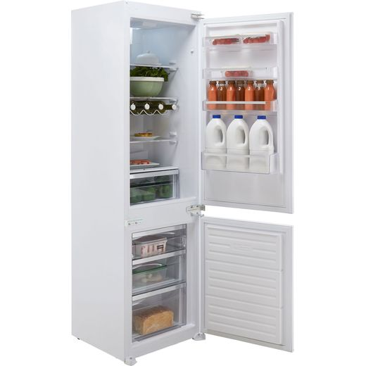 Stoves INT70FF Integrated 70/30 Frost Free Fridge Freezer with Sliding Door Fixing Kit - White - F Rated