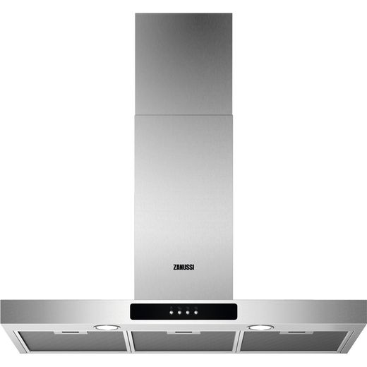 Zanussi ZFT519X 90 cm Chimney Cooker Hood - Stainless Steel - C Rated