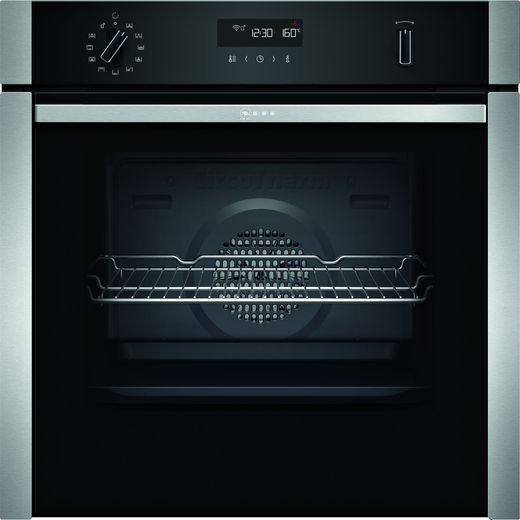 NEFF N50 Slide&Hide® B5ACM7HH0B Built In Electric Single Oven - Stainless Steel - A Rated