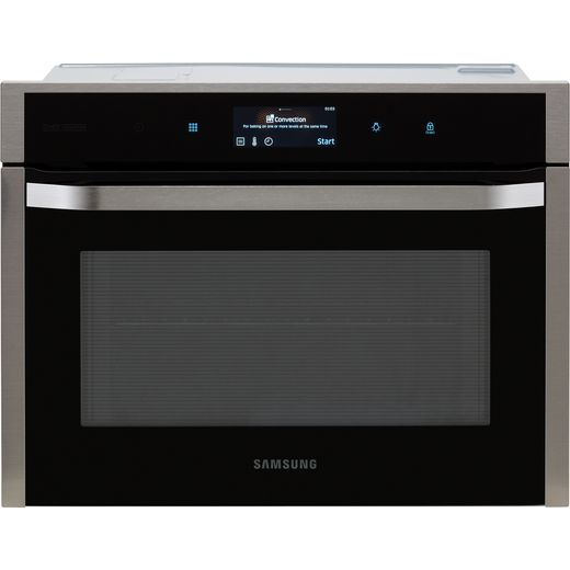 Samsung Chef Collection NQ50J9530BS Built In Electric Single Oven - Black / Stainless Steel