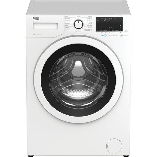 Beko WEC840522W 8Kg Washing Machine with 1400 rpm - White - C Rated