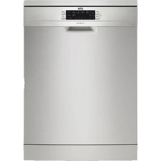 AEG FFE63700PM Standard Dishwasher - Stainless Steel - D Rated