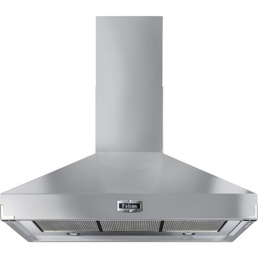 Falcon FHDSE1092SS/C 110 cm Chimney Cooker Hood - Stainless Steel - A Rated