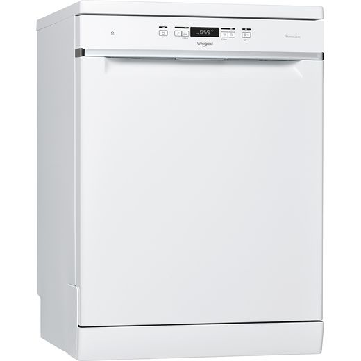Whirlpool WFC3C33PFUK Standard Dishwasher - White - D Rated