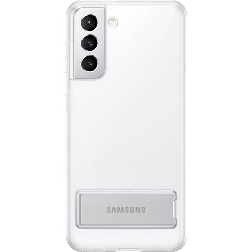 Samsung Clear Standing Case for Galaxy S21 - Clear