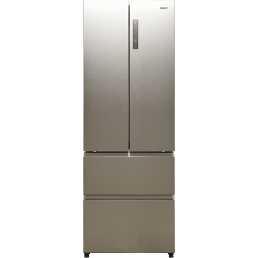 Haier HB20FPAAA American Fridge Freezer - Stainless Steel - E Rated