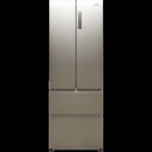 Haier HB20FPAAA American Fridge Freezer - Stainless Steel