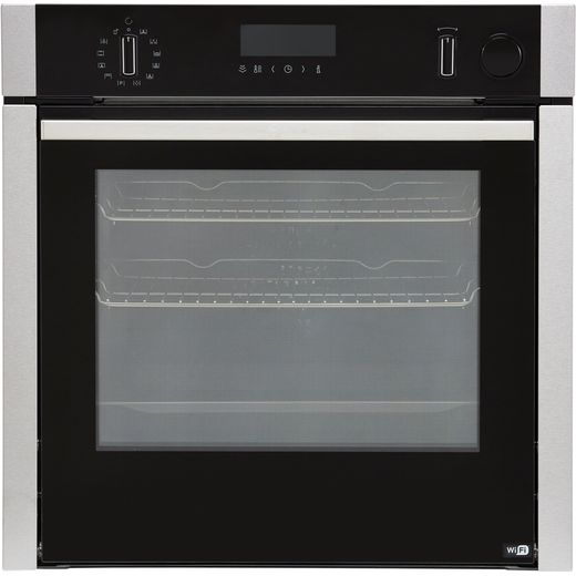 NEFF N50 Slide&Hide® B4AVH1AH0B Built In Electric Single Oven with added Steam Function - Stainless Steel - A Rated