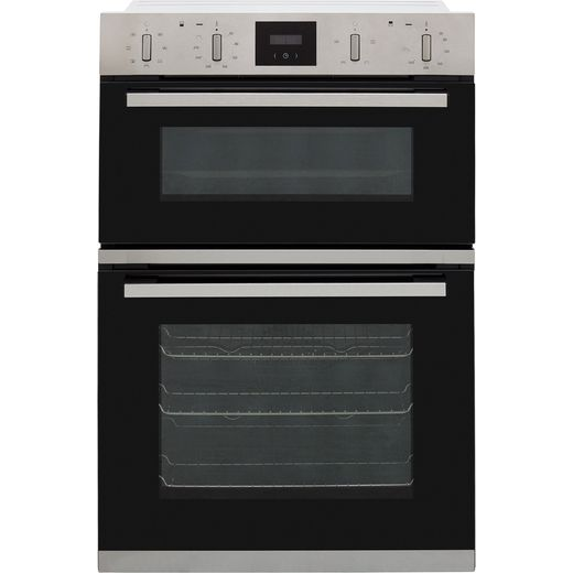 NEFF N30 U1GCC0AN0B Built In Electric Double Oven - Stainless Steel - A/B Rated