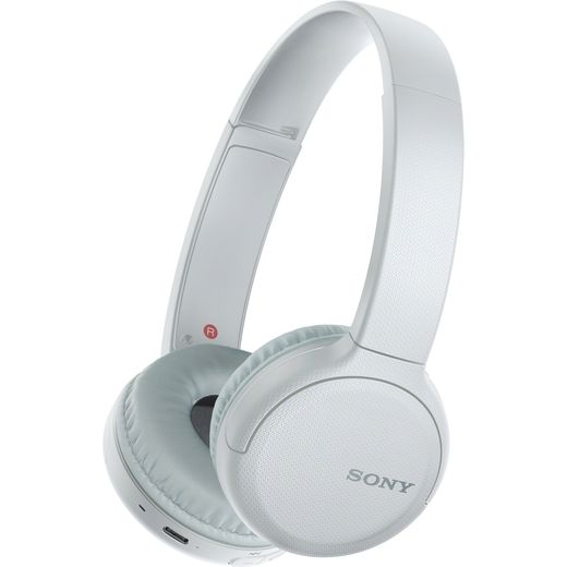 Sony WH-CH510 On-Ear Wireless Bluetooth Headphones - White
