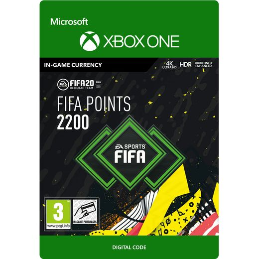 Fifa 20 2200 Points For Xbox One Digital Download
