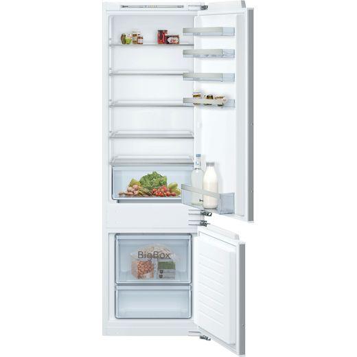 NEFF N50 KI5872FF0G Integrated 70/30 Fridge Freezer with Fixed Door Fixing Kit - White - F Rated