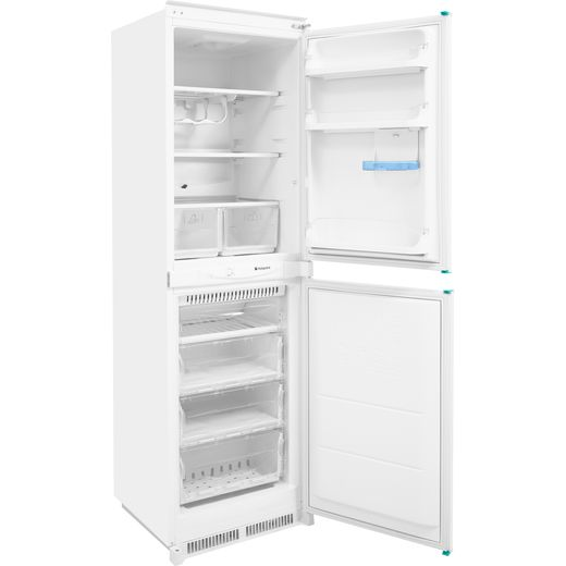Hotpoint Aquarius HM325FF2.1 Integrated 50/50 Frost Free Fridge Freezer with Sliding Door Fixing Kit - White - A+ Rated