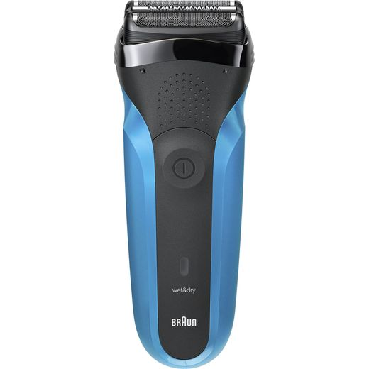 Braun Series 3 Mens Shaver Black / Blue