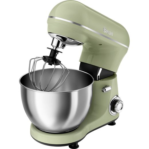 Swan Retro SP21060GN Stand Mixer with 4 Litre Bowl - Green