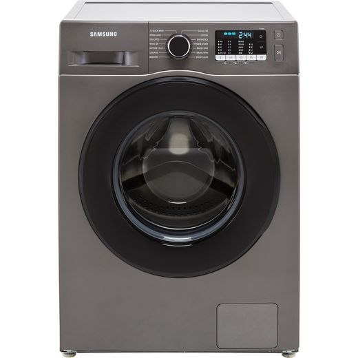 Samsung Series 5 ecobubble™ WW90TA046AX 9Kg Washing Machine with 1400 rpm - Graphite - A Rated
