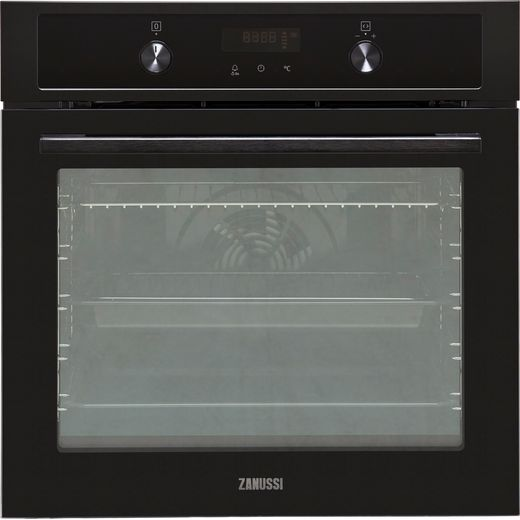 Zanussi ZOHNA7K1 Built In Electric Single Oven - Black - A+ Rated