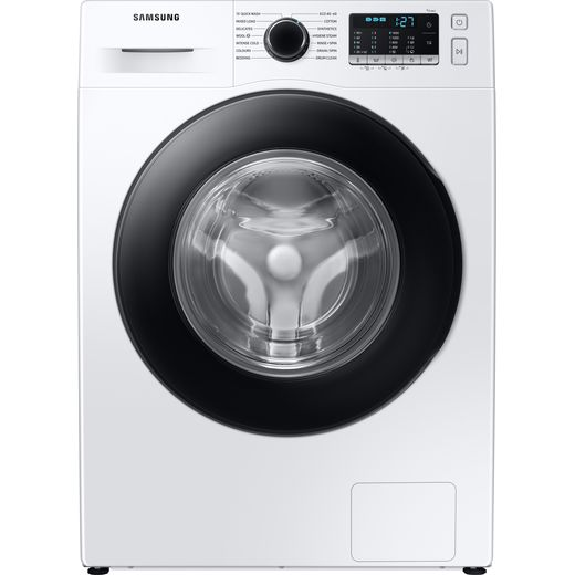 Samsung Series 5 ecobubble™ WW80TA046AE 8Kg Washing Machine with 1400 rpm - White - B Rated