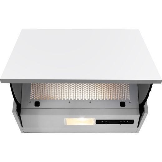 Beko HNE51210S 60 cm Integrated Cooker Hood - Silver - E Rated