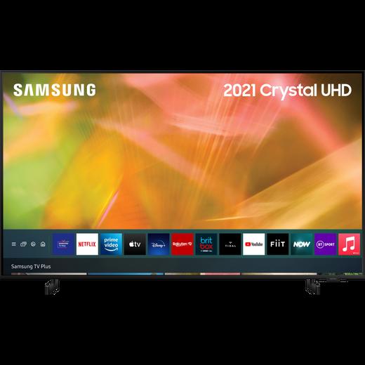 "Samsung UE75AU8000 75"" Smart 4K Ultra HD TV"