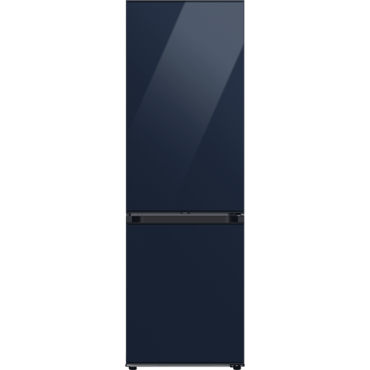 Samsung Bespoke RB34A6B2E41 70/30 Frost Free Fridge Freezer - Glam Navy - E Rated