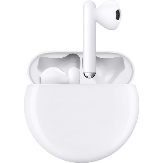 HUAWEI FreeBuds 3 Bluetooth In-Ear Headphones - Yes Charging Case - White