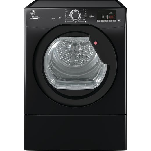 Hoover H-DRY 300 HLEV9DGB 9Kg Vented Tumble Dryer - Black - C Rated