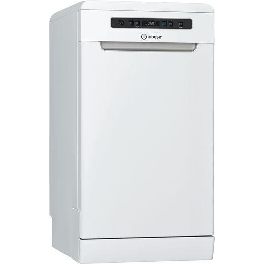Indesit DSFO3T224ZUKN Slimline Dishwasher - White - A++ Rated