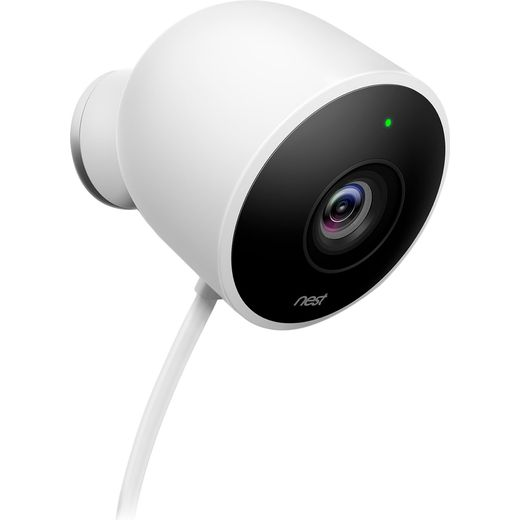 Nest Cam Outdoor Security Camera Full HD 1080p - White