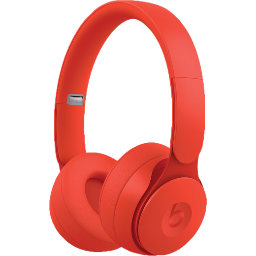 Beats Solo Pro On-Ear Wireless Bluetooth Headphones - Red