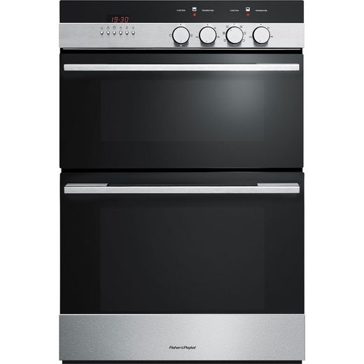 Fisher & Paykel OB60BCEX4 Built In Electric Double Oven - Stainless Steel