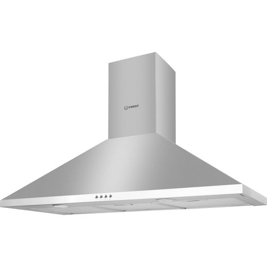 Indesit IHPC9.5LMX Cooker Hood - Stainless Steel - B Rated