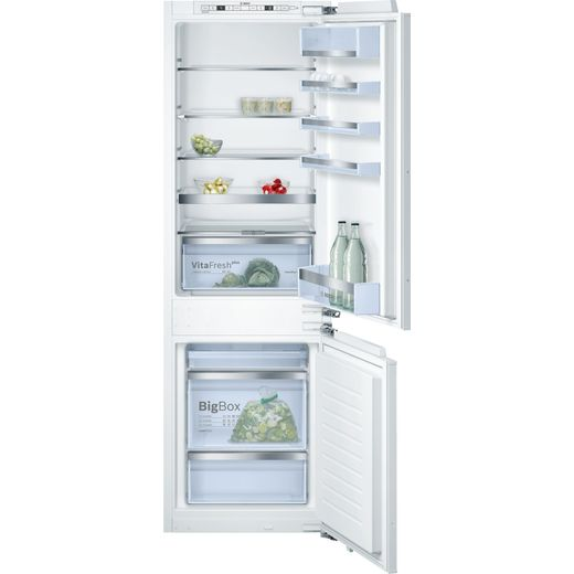 Bosch Serie 6 KIS86AFE0G Built In Fridge Freezer - White