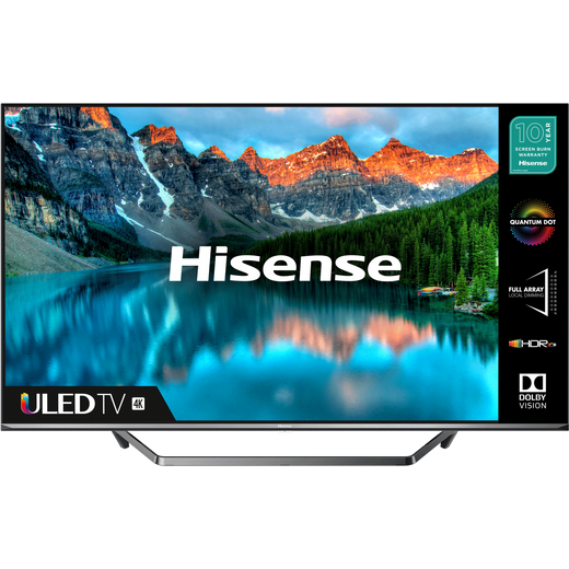 """Hisense QLED 50U7QFTUK 50"""" Smart 4K Ultra HD TV"""