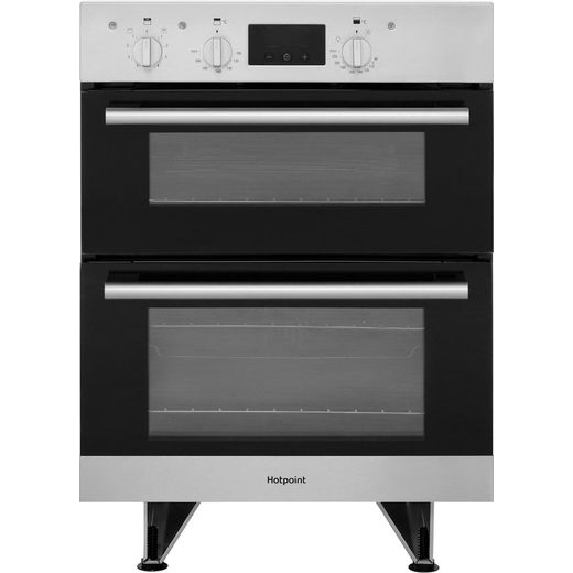 Hotpoint Class 2 DU2540IX Built Under Electric Double Oven With Feet - Stainless Steel - A/A Rated