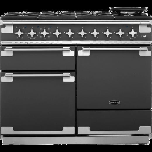 Rangemaster Elise ELS110DFFSL 110cm Dual Fuel Range Cooker - Slate - A/A Rated