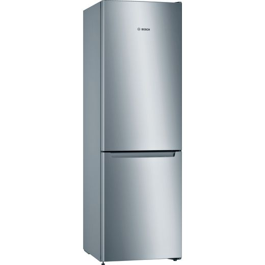 Bosch Serie 2 KGN33NLEAG 60/40 Frost Free Fridge Freezer - Stainless Steel Effect - E Rated